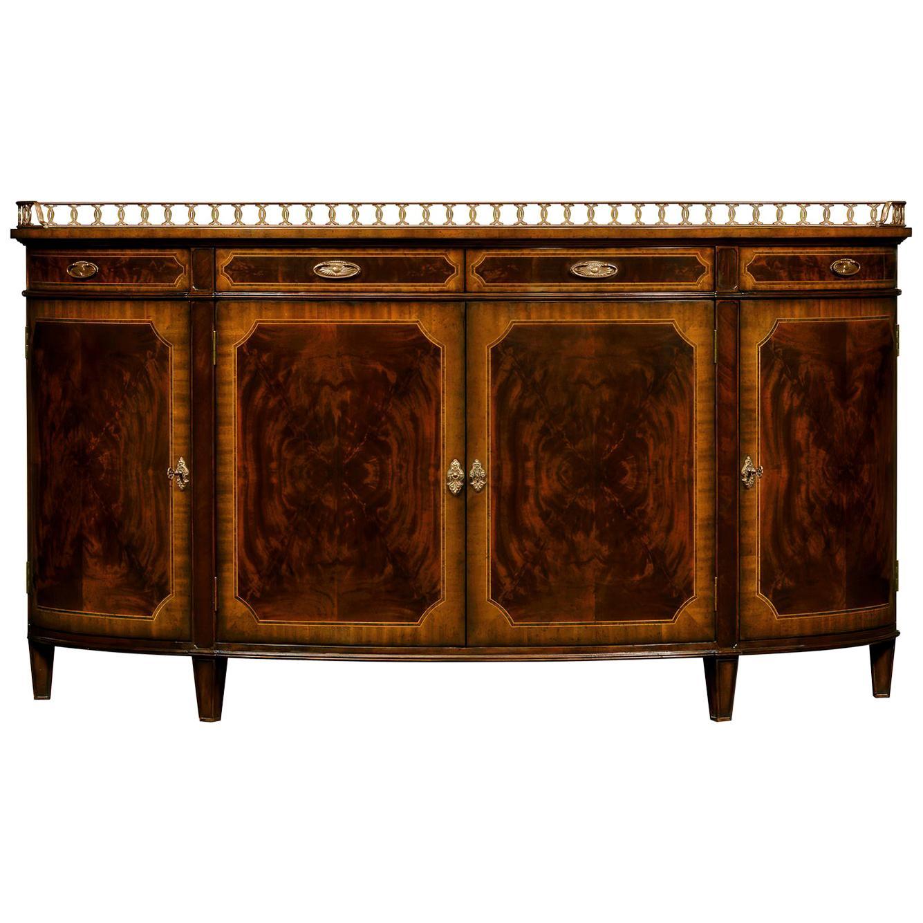 George III Demilune Sideboard