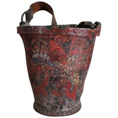 George III Early 19th Century Leather Fire Bucket