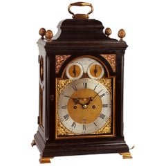 George III Ebonized Bracket Clock by William Allam, London