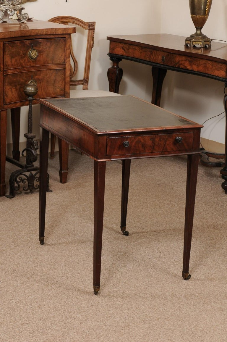 George III English Architects Mahogany Side Table, circa 1790 For Sale 5