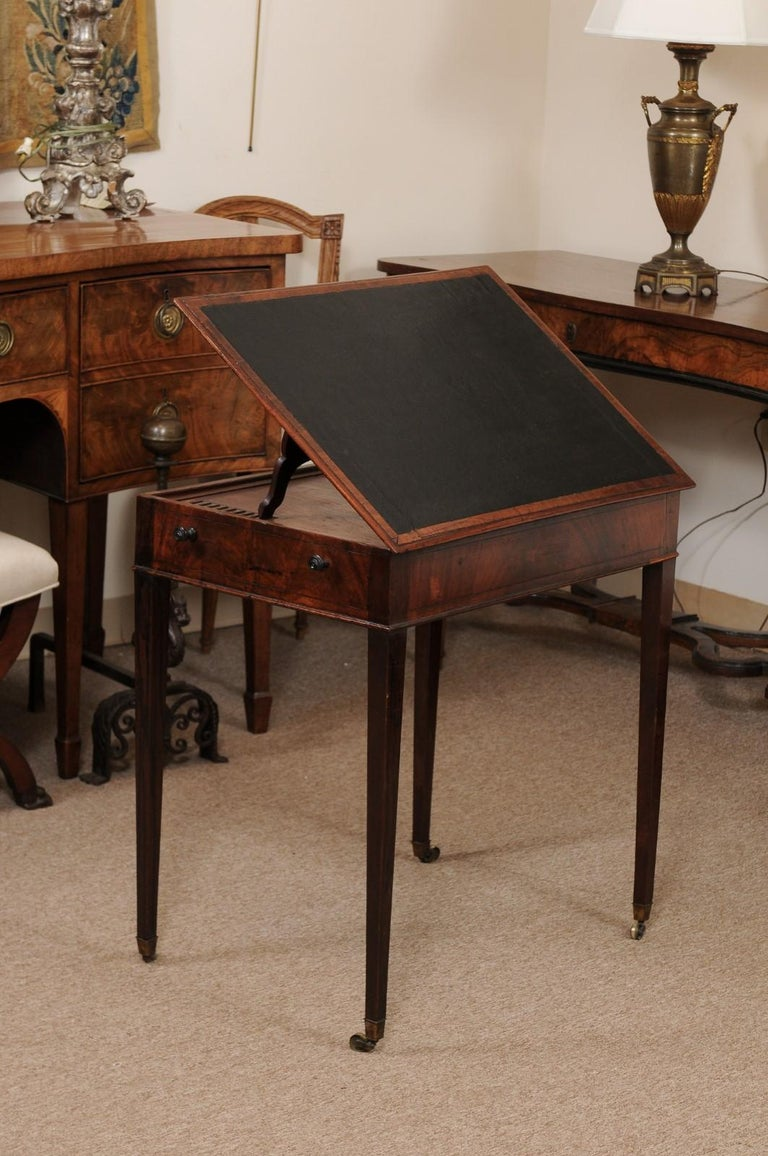 George III English Architects Mahogany Side Table, circa 1790 For Sale 6