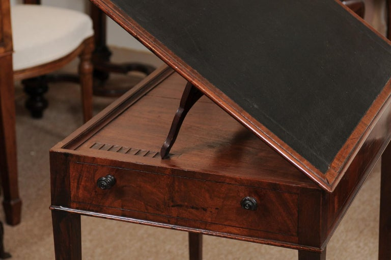 George III English Architects Mahogany Side Table, circa 1790 For Sale 7
