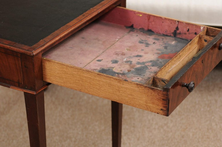 George III English Architects Mahogany Side Table, circa 1790 For Sale 1
