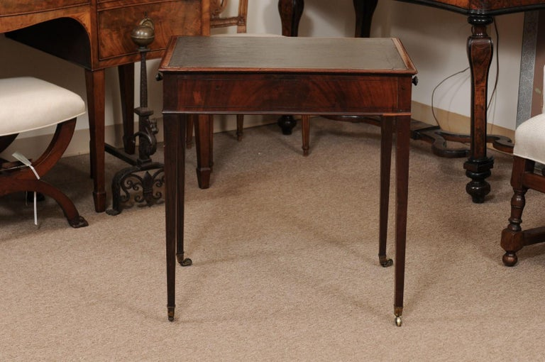 George III English Architects Mahogany Side Table, circa 1790 For Sale 3