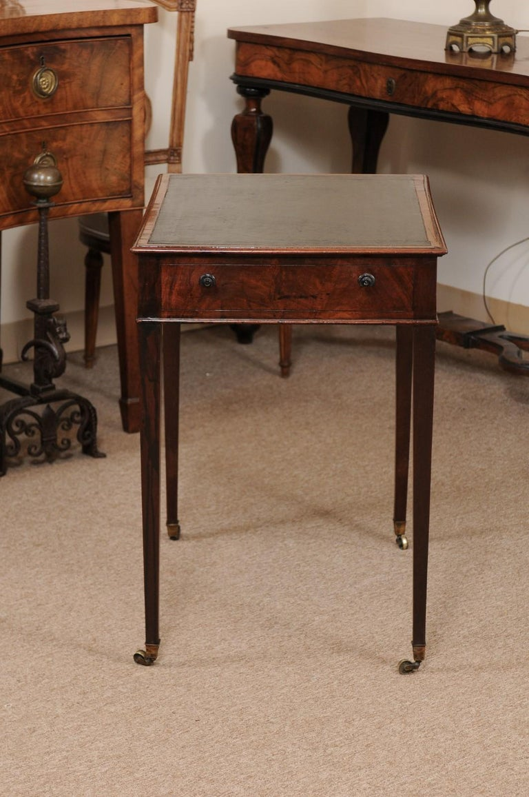 George III English Architects Mahogany Side Table, circa 1790 For Sale 4