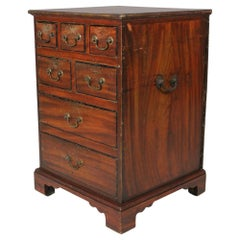 George III Estate Made Original Painted Pine Chest Of Drawers