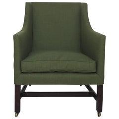 George III Library Chair with Marlborough Legs