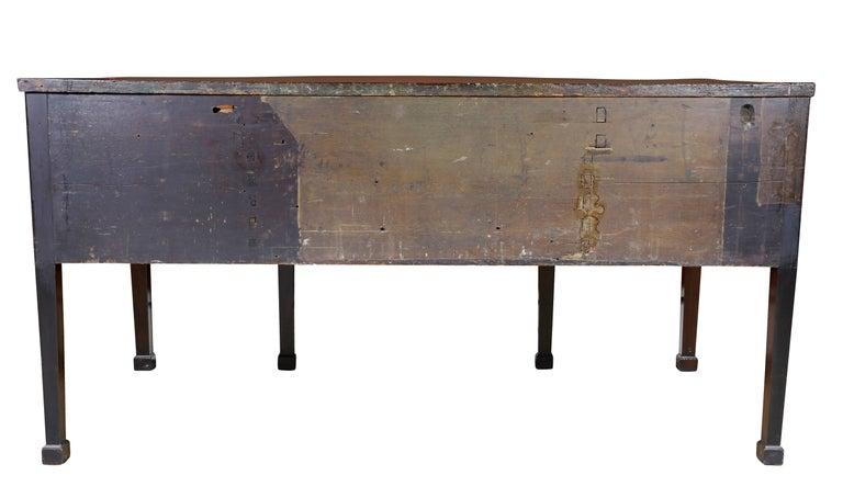 George III Mahogany and Inlaid Sideboard For Sale 4