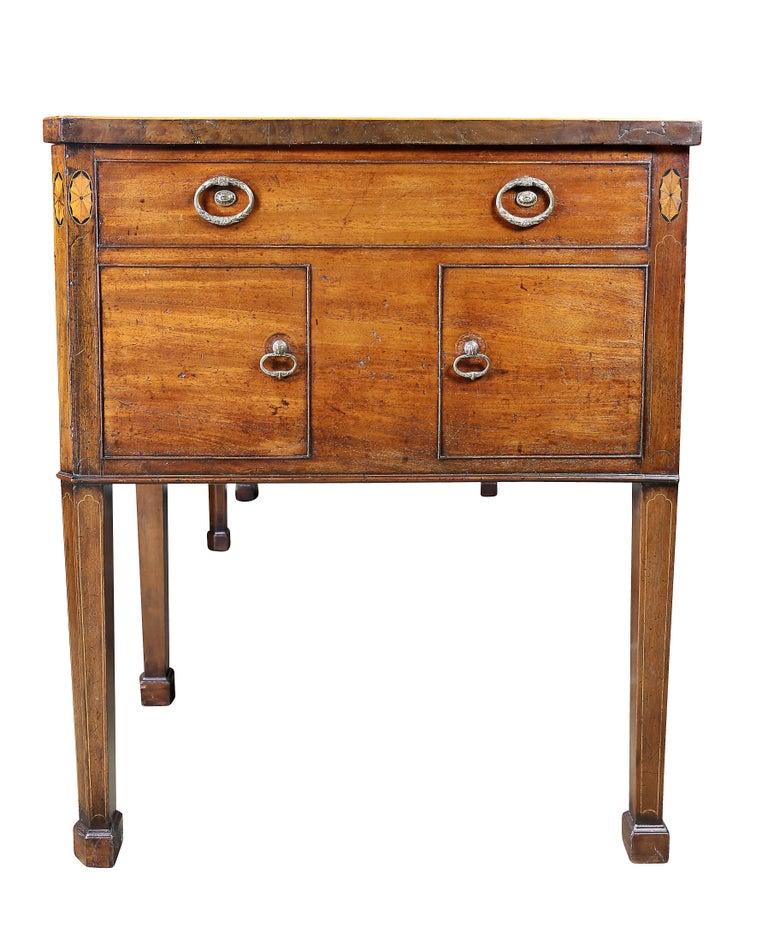 George III Mahogany and Inlaid Sideboard For Sale 3
