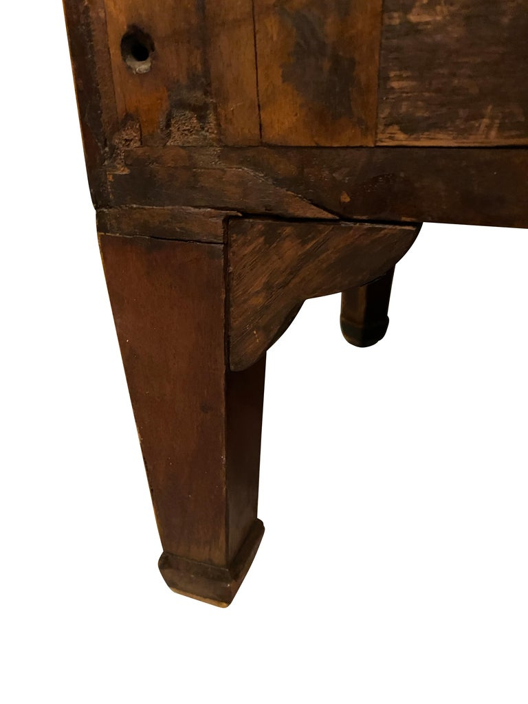 Late 18th Century George III Mahogany and Rosewood Credenza For Sale