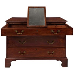 George III Mahogany Antique Chest of Drawers, England, circa 1800