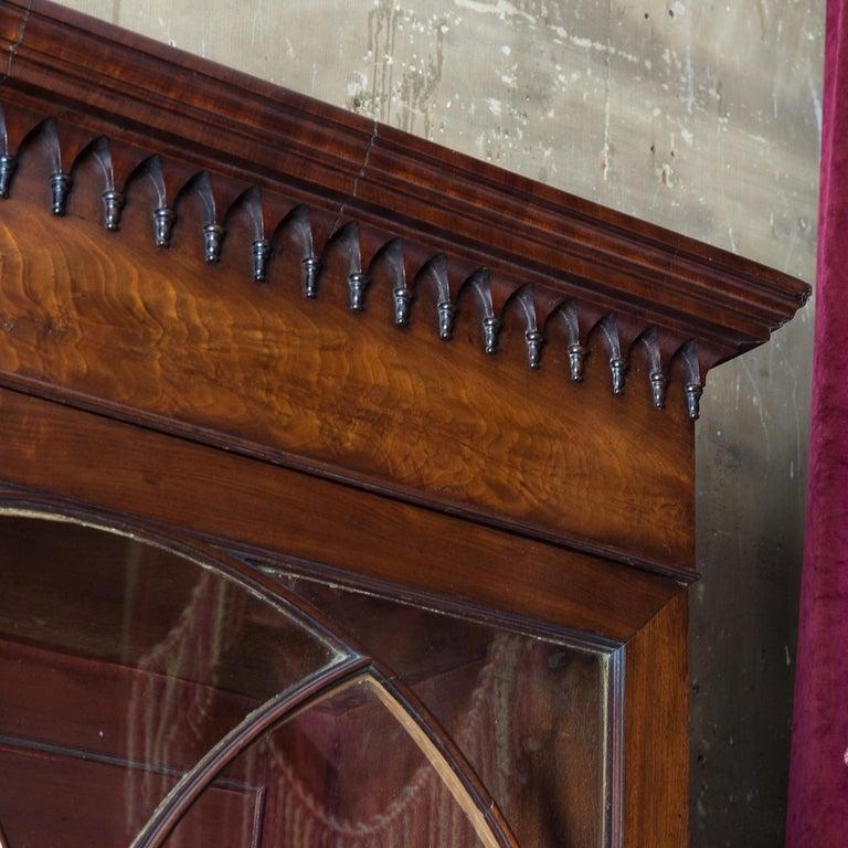 George III Mahogany Bookcase For Sale 9