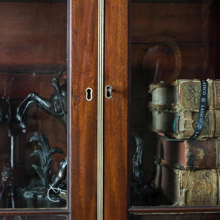George III Mahogany Bookcase For Sale 10