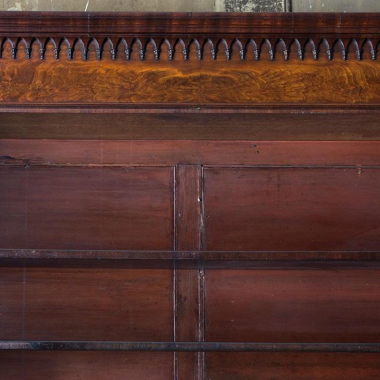George III Mahogany Bookcase For Sale 12