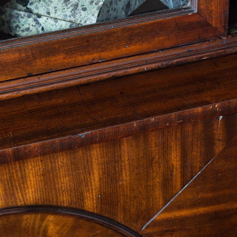 George III Mahogany Bookcase For Sale 14