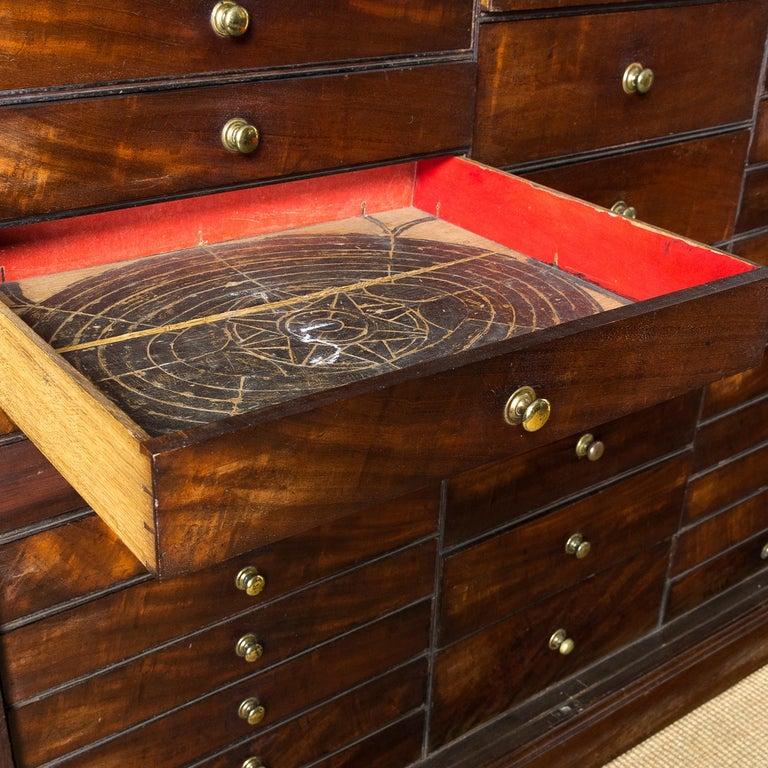 George III Mahogany Bookcase For Sale 1