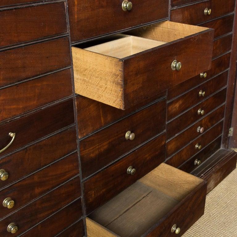 George III Mahogany Bookcase For Sale 2