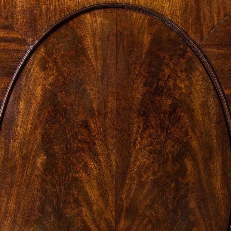 George III Mahogany Bookcase For Sale 3