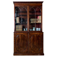 George III Mahogany Bookcase
