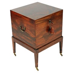 George III Mahogany Cellaret, 19th Century