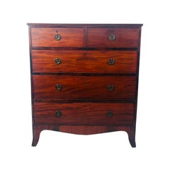 George III Mahogany Chest of Drawers, England, circa 1790