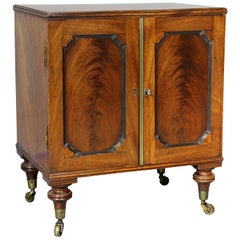 George III Mahogany Collectors Cabinet