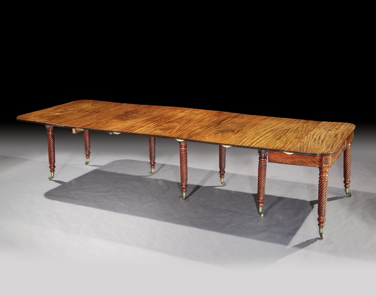 George III Mahogany Dining Table Attributed to Gillows 3
