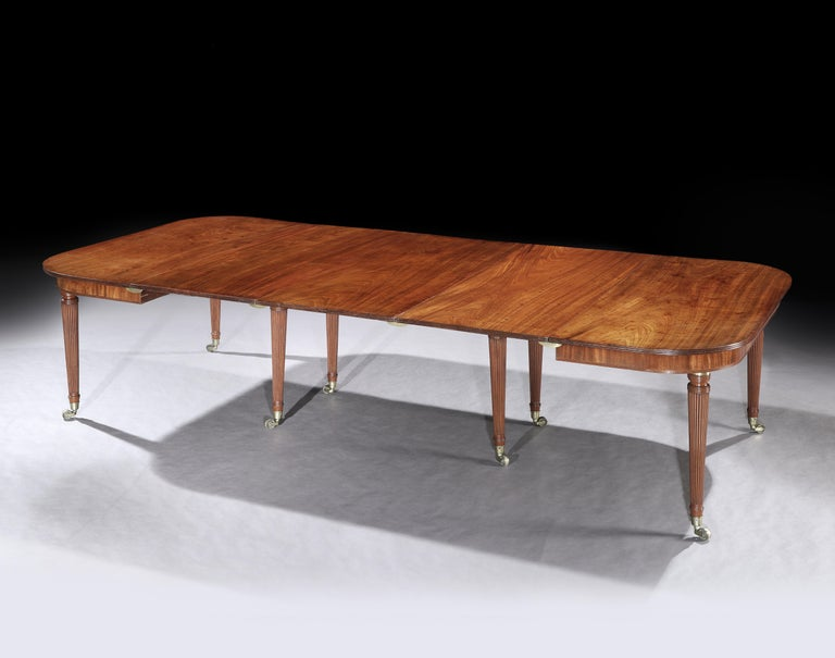 George III Mahogany Dining Table Attributed to Gillows 4