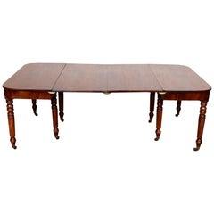 George III Mahogany Dining Table, circa 1790