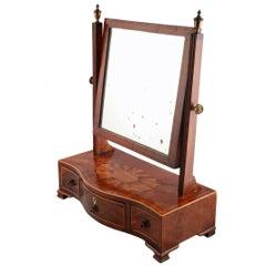 George III Mahogany Dressing Mirror