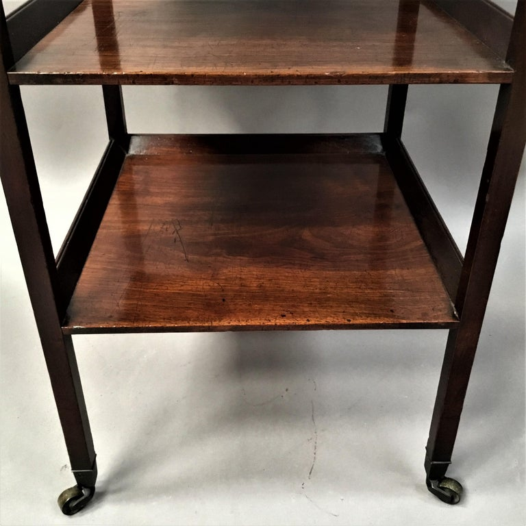 George III Mahogany Étagère / Whatnot For Sale 4