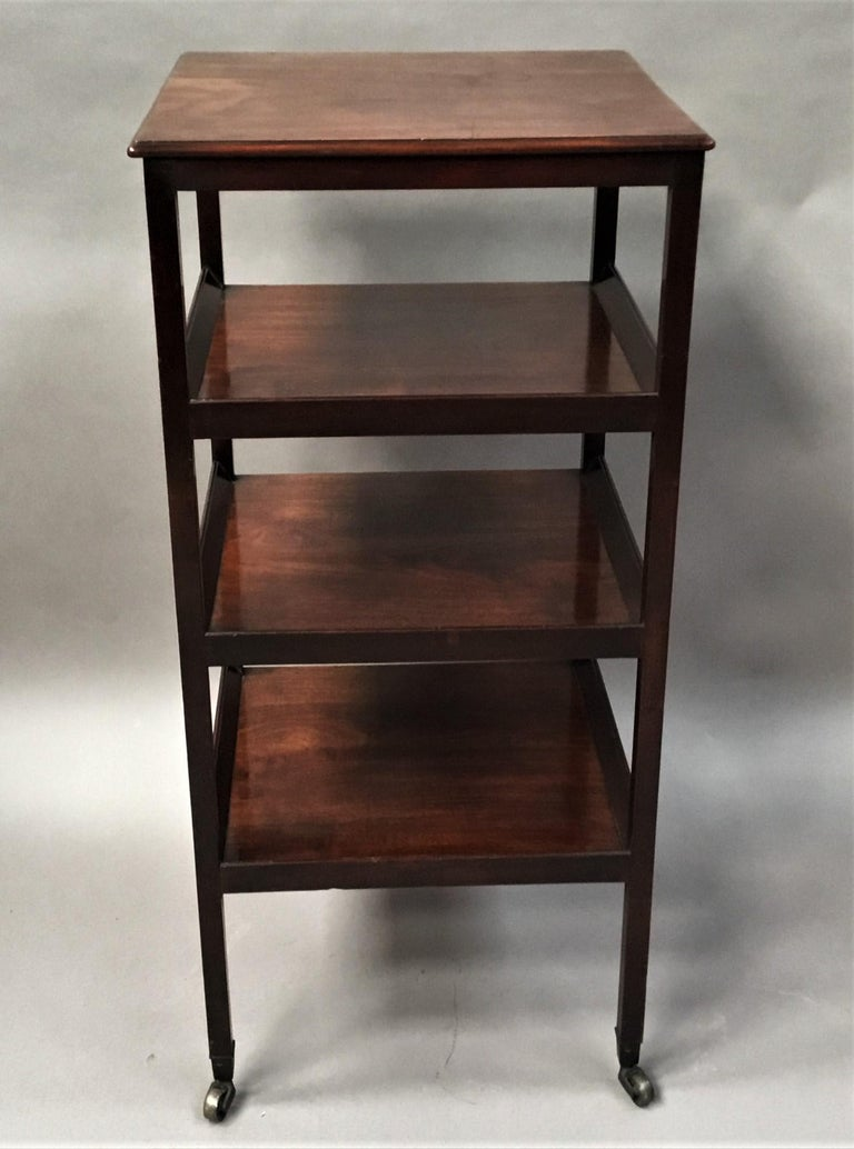 George III Mahogany Étagère / Whatnot For Sale 8