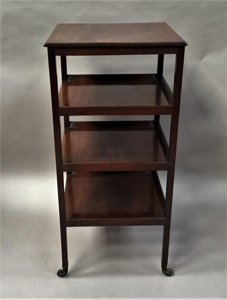 George III Mahogany Étagère / Whatnot For Sale 9