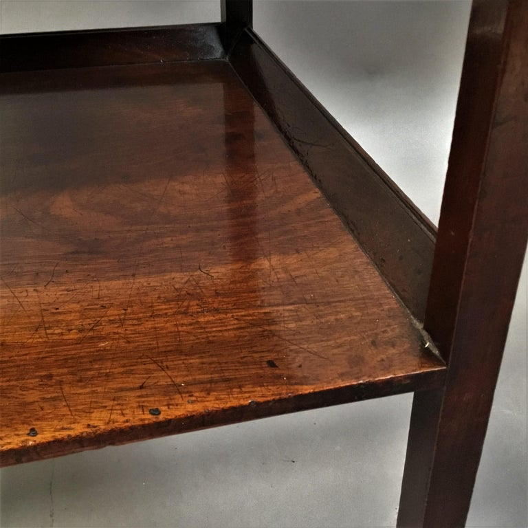 George III Mahogany Étagère / Whatnot For Sale 11