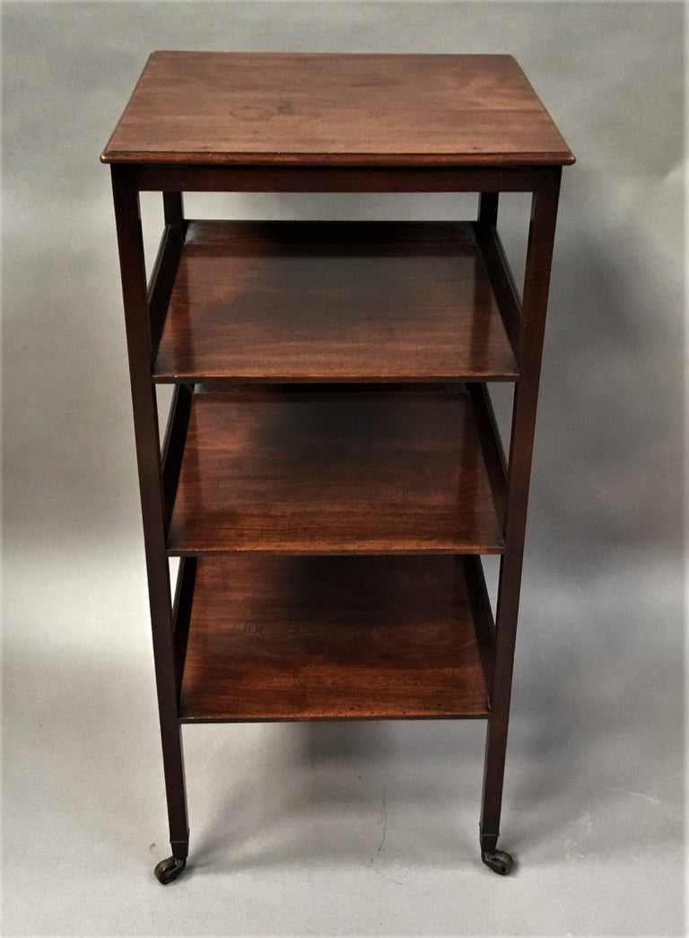 George III Mahogany Étagère / Whatnot For Sale 3