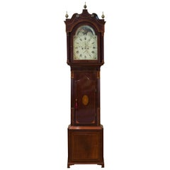 George III Mahogany Inlaid Longcase Clock by Stephen Hurst, Liverpool
