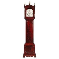 George III Mahogany Long Case Clock by Samuel Hunter of Islington