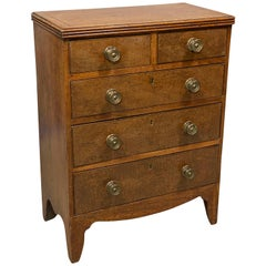 George III Mahogany Miniature Chest