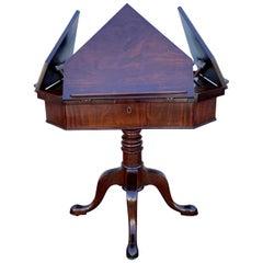 George III Mahogany Quartet Music / Reading Stand