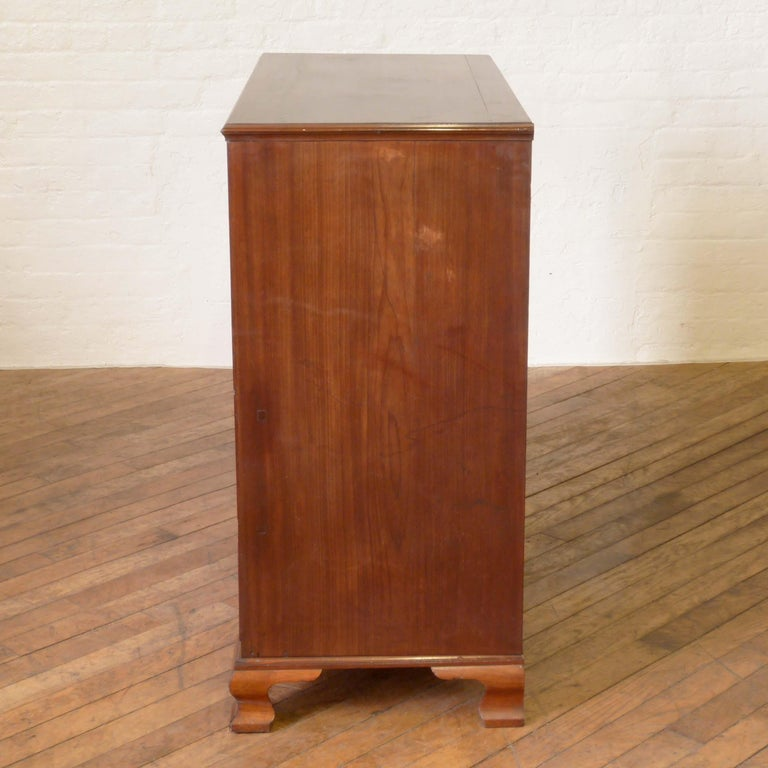 George III Mahogany Secretaire Chest For Sale 13
