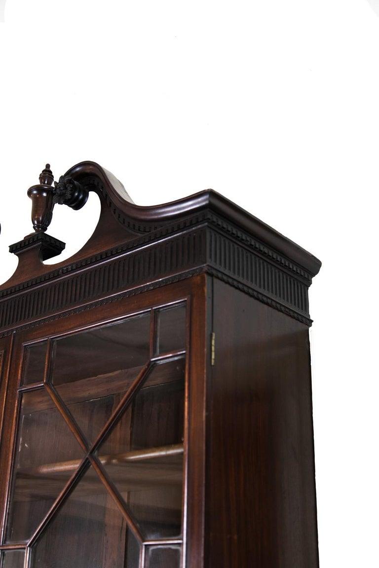 George III Mahogany Secretary For Sale 3