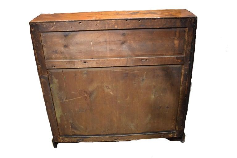 18th Century George III Mahogany Slant Front Desk For Sale