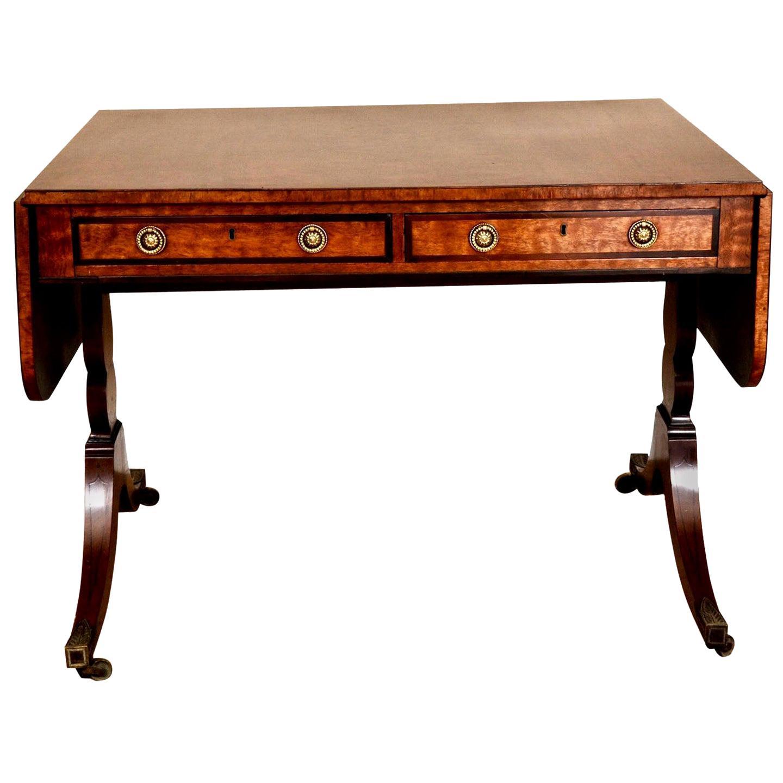 George III Mahogany Sofa Table, circa 1785
