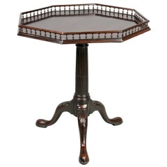 George III Mahogany Tea Table
