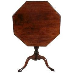 George III Mahogany Tilt Top Table, circa 1760