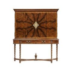 George III Mahogany TV Cabinet