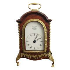George III Miniature Twin Fusee Mantel Clock, circa 1790