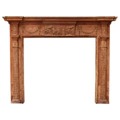 George III Neoclassical Fire Surround