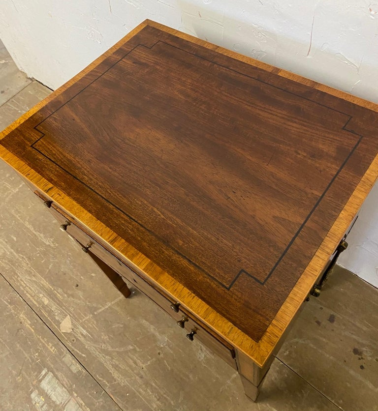 George III Night Table/Sewing Table c.1800 For Sale 6