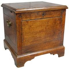 George III Oak Cellarette